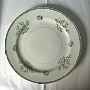 Set Of 4 Vintage Rose China Made In Occupied Japan Dinner Plates