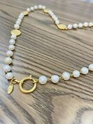 Vintage Necklace 31 Rue Cambon Paris Faux Pearl And Gold Costume Jewelry