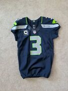 Authentic Russell Wilson Seahawks Nike 42 Jersey Team Issued