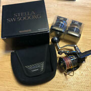 Shimano 13 Stella Sw 5000xg Saltwater Fishing Spinning Reel And Spare Spool Set
