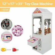 110v Mini Claw Crane Machine Toy Candy Catcher Grabber Carnival Charge Play Mall