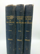 1866 Witchcraft Delusion In New England 70 Copies Royal 8vo Mather Calef Drake