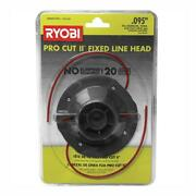 String Trimmer Head 0.095 In. Fixed Line Universal Pro Cut Ll 20 Pieces Pre-cut