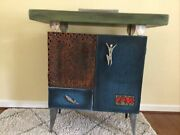 Avner Zabari Industrial Art Cabinet Whimsical Hearts Faces Rare, Local Pick-up
