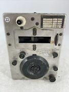 Vintage Bc-457-a Radio Transmitter Signal Corps Us Army Collector's Piece