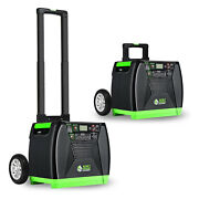 Nature's Generator Elite Portable Solar And Wind Powered 3600w Generator Used