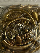 240 Gram Lot Of 10k 12k 14k Gold Filled Jewelry Scrap And Wearable