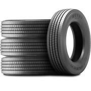 4 Tires Falken Ri151 245/70r19.5 Load H 16 Ply All Position Commercial