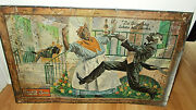 Rare Cookand039s Pre-prohibition Beer Advertising Toc Sign F.w. Cook Co. Evansville