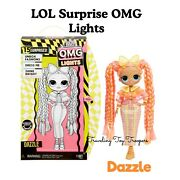 Lol Surprise Omg Lights Dazzle Fashion Doll With 15+ Surprises - New