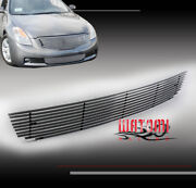 Bumper Lower Billet Grille Grill Insert Horizontal For 08-09 Altima Coupe 2dr