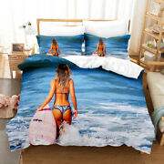 Holiday 3d Beautiful Duvet Cover Hot Summer Pillowcase Comforter Cover All Size