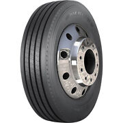 4 Tires Americus Rs 2000 285/75r24.5 Load G 14 Ply Steer Commercial