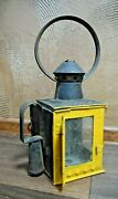 Vintage Original Russian Railroad Candle Lantern 1930and039s Years Cccp Ussr