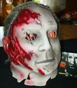 Pmg Don Post - Michael Myers Mask - Halloween H2 A Rob Zombie Film New Rare