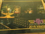 Mth Electric Trains 2016 Volume 1 Catalog For Railking And Premier O Gauge Trains