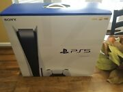 Nib Sony Playstation 5 Ps5 Cfi-1015a Disc Edition 825 Gb New Video Game Console