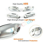 Mirror Frame Cap Ally Chrome U Fit For Audi A7/s7/rs7 11-17/ Side Line Assistant