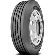 2 Tires Firestone Fs561 245/70r19.5 Load F 12 Ply Steer Commercial