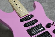 Fender Large Made In Japan Limited Edition Hm Stratocaster 20000277 -flash Pink-