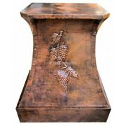Mexican Copper Hand Handcrafted Kitchen - Hood Vines -