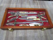 Lot Of 18 Vintage Pocket Knives Mixed Brand With Case