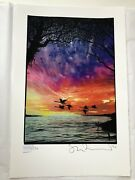 Stanley Donwood Rise Limited Edition Print Signed And Numbered