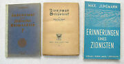 Judaica 3 Antique And Old Books On Zionismus In German
