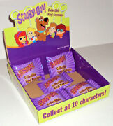 Scooby-doo Collectible Vinyl Keychains Display Case 5 Sealed Blind Bag Key Chain