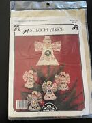 St Lucia Angel Perforated Paper Tree Topper Xmas Cross Stitch Kit Holiday Sealed