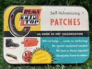 Vintage Rema Tip Top Tire Bicycle Tube Repair Kit Tin W/ Patches West Germany Bb