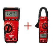 Digital Multimeter Commercial Residential True-rms With 400 Amp Clamp Meter