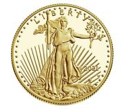 Sealed American Eagle 2021 One Ounce 1 Oz Gold Proof Coin 21eb