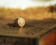 Howard University Class Signet Ring, Solid Gold, Vintage, No Year Or Dept