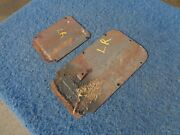 1954 Pontiac Station Wagon Left Rear Door Access Panels Solid Pair 1953 Chevy