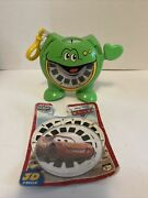 Walt Disney 2006 Animated Film Cars View-master, 3 Reels W/ Viewmaster
