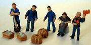 Quayside Equipment F207p Painted Oo Scale Langley Models People Figures 1/76