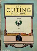The Outing Magazine March 1909 Small Format Hunting Fishing Dogs