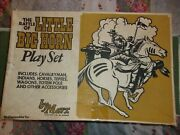 Marx Battle Of The Little Big Horn Playset Model 4679mo Rare General Custer 1972