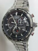 Citizen Menand039s Eco-drive Perpetual Calendar At Watch Radio Controlled At4008-51e