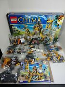 Lego Legends Of Chima The Lion Chi Temple 70010 Complete Set 1-2 Open 3-9 Seal