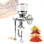Manual Mill Grinder For Grains/corn/beans/nut Stainless Steel Kitchen Hand Crank