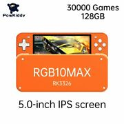 Retro Game Console Rgb10 Pro Source System Handheld Game 3d Rocker Player