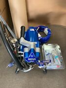 Graco 390 Pc Electric Airless Paint Sprayer Stand 17c310 Old 253958