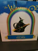 Wizard Of Oz Wicked Witch Of The West Teapot Rare New In Box