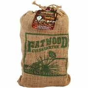 Fatwood 8 Lb. Fire Starter In Burlap Bag Pack Of 6 09908 Pack Of 6