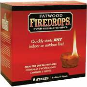 Fatwood Firedrops Fire Starter 8-pack Pack Of 12 8808 Pack Of 12