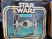 Vintage Star Wars Group Tie Fighter X-wing Fighter And Darth Vader Tie Fighter