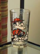 Pepsi Dudley Do Right Glass Pat Ward 5 1/8 Tall