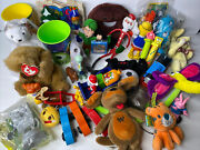 Junk Drawer Toy Lot - 36 Items Assorted Items Thomas Playmobile Ty Pez And More